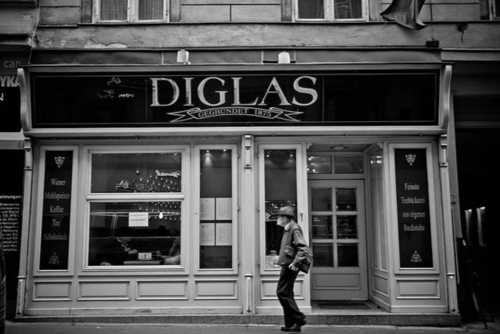 Café Diglas am Fleischmarkt 4